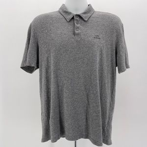 Life Is Good Gray Classic Fit Polo Shirt